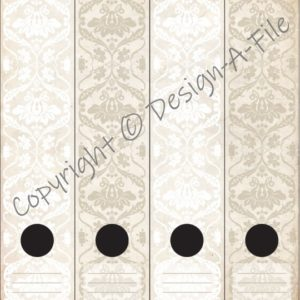 Antique White File Labels