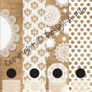 Doilies File Labels
