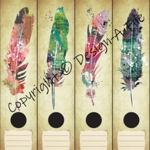 Feathers File Labels