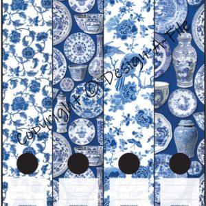 Delft Blue File Labels